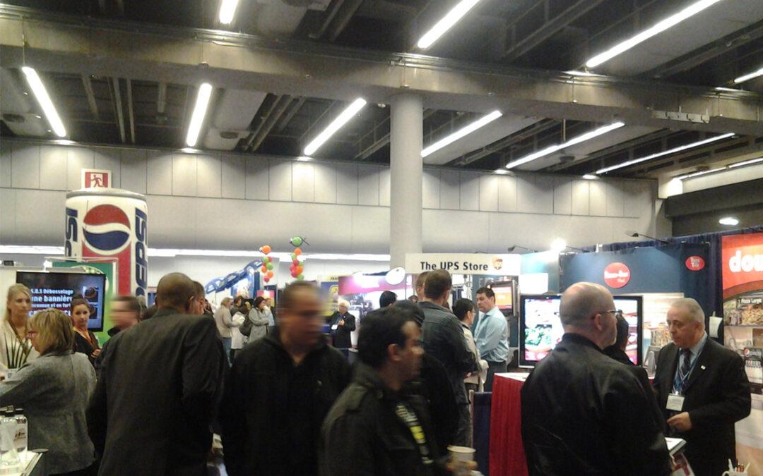 Le prochain salon Expo Franchise de Montréal a lieu au Palais des congrès les 11 et 12 novembre