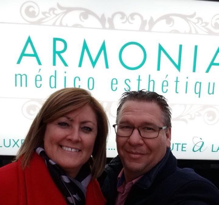 Entente signée d'Armonia Médico Esthétique avec un Maître Franchisé pour le développement de 40 territoires dans les régions de la Montérégie et de L'Estrie.