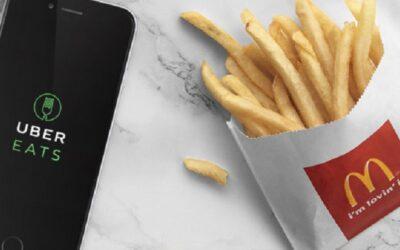 McDonald fait maintenant de la livraison!