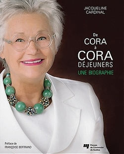 Une biographie de Cora Tsouflidou, la reine des déjeuners au Québec, vient de paraître
