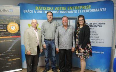 Le siège social de Solution Thermo est fier d'annoncer la contribution d'Investissement Québec