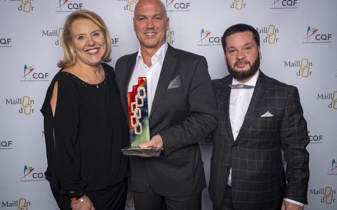 Richard Dumas de Boston Pizza est honoré comme FRANCHISÉ DE L'ANNÉE 2017