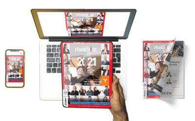 Magazine Québec Franchise 2021 – Maintenant disponible en kiosque et en ligne
